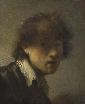 Rembrandt Harmenszoon van Rijn: Önarckép