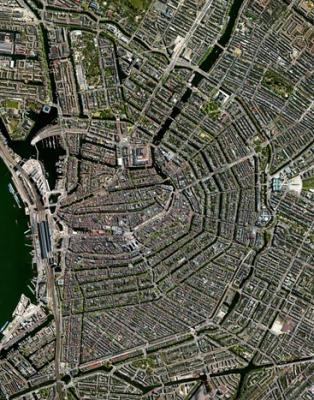 Amszterdam madártávlatból