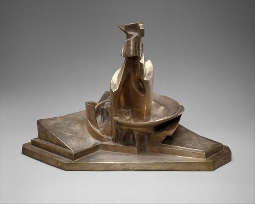 Boccioni: Egy palack kibontakozása a térben, 1912