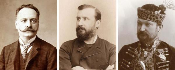 Bókay Árpád, Eötvös Loránd és Szemere Miklós