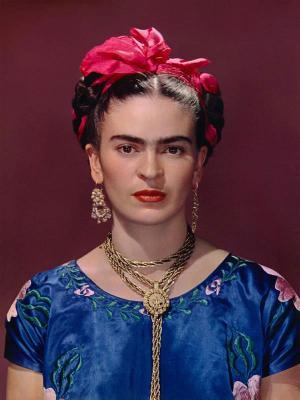Frida kék ruhában, 1939.