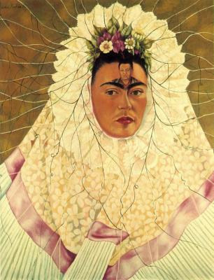 Frida Kahlo: Tehuana önarckép, 1943.