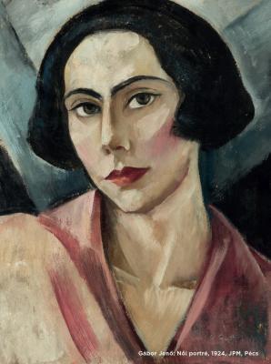 Gábor Jenő: Női portré