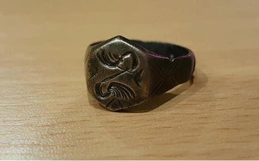 A Hatvany Lajos Múzeum gyűjteményében található gyűrű a késő középkorból