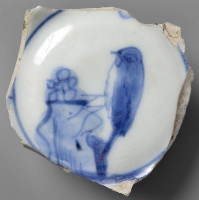 Hódoltságkori porceláncsésze