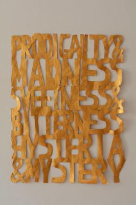 Hristina Ivanoska, Untitled (Prodigality and madness sweetness and bitterness hysteria and mystery), 2014