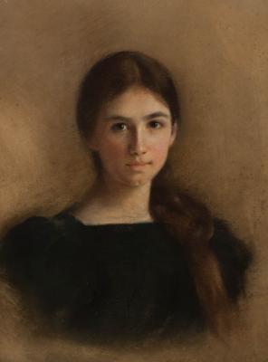 Luigi Loir (1845-1916): Inez portréja, 1894