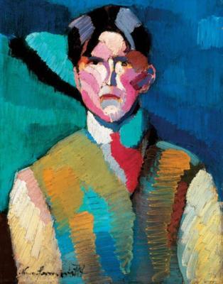 Nemes Lampért: Önarckép, 1911