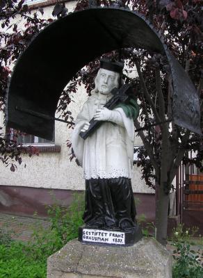 Nepomuki Szent János, Berkenye 1857