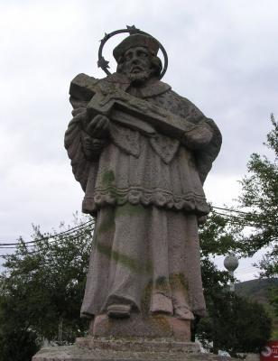 Nepomuki Szent János, Romhány 1795
