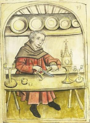 Rézműves (Mendel kiadványából)