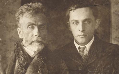 Apa és fia: Stanislaw Witkiewicz és Witkacy, 1910-es évek eleje