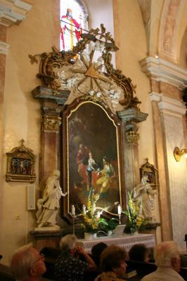 Szent Anna oltár