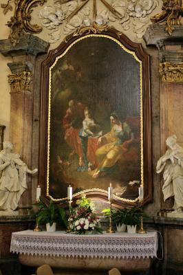 Szent Anna oltár, Balassagyarmat