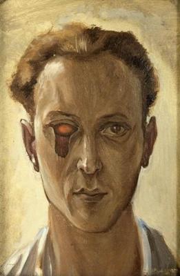 Victor Brauner: Önarckép, 1931