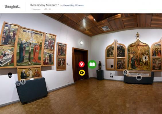 Virtuális séta az esztergomi Keresztény Múzeumban