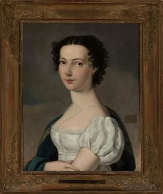 Wéber Henrik: Női arckép