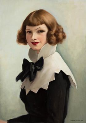 "Zádor István (1882 –1963): ""Miss Duna\"", 1936"