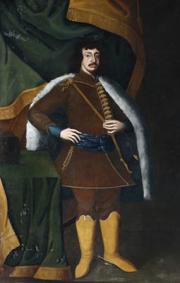 Ismeretlen művész (17. század második fele): Zrínyi Miklós. Olaj vászon