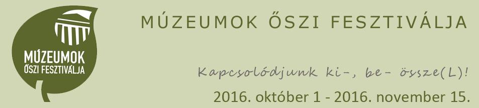 Múzeumok Őszi Fesztiválja 2017